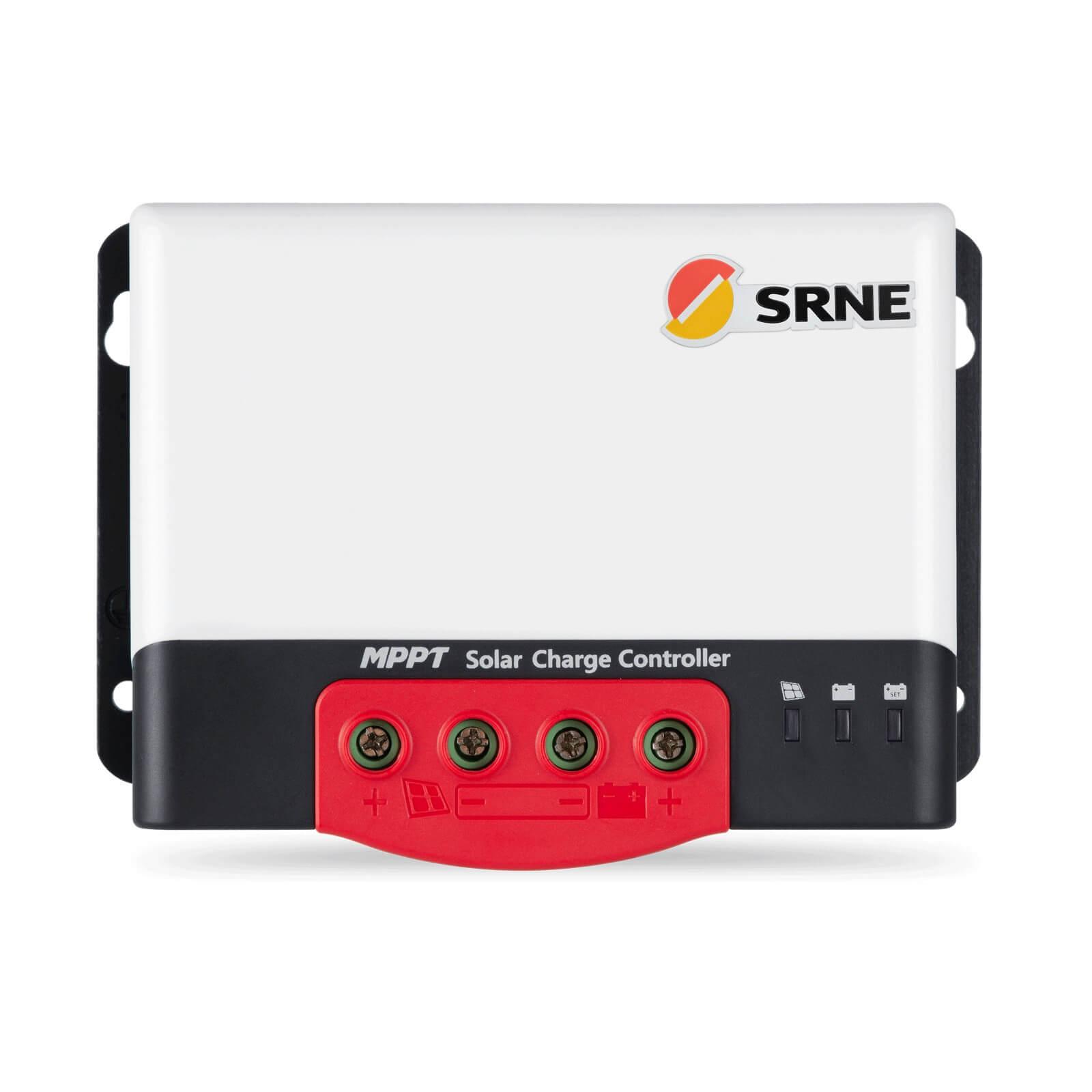 SRNE MPPT 12V/24V 20A, 30A, 40A, 50A MC Series (input 100V)