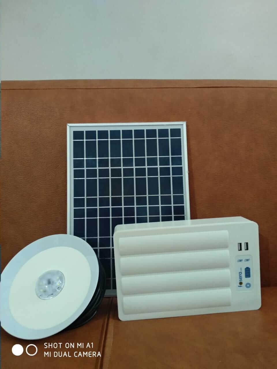 Fosera LSHS (Li-Ion Solar Home System) 4500 13v